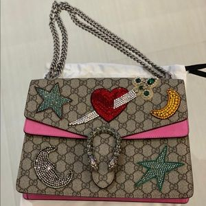 Gucci embellished Dionysus Bag with colored stones